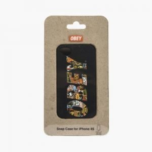 Obey Iphone 4/S Snapcase Black