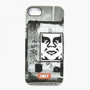 Obey Iphone 5 Fourlong Snapcase Black/white