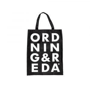 Ordning & Reda O & R Carry Laukku Nylon Musta 31x39 Cm