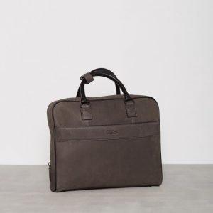 Oscar Jacobson OJ Briefcase Male Laukku Musta