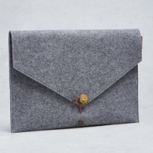 "P.A.P P.A.P Kungsten 15"" Felt Laptop Cover L. Grey"