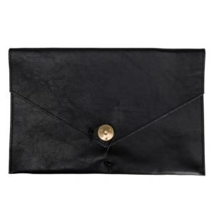 "P.A.P P.A.P Kungsten Leather Laptop Cover 12"" Black"