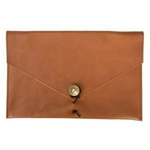 "P.A.P P.A.P Kungsten Leather Laptop Cover 12"" Tan"