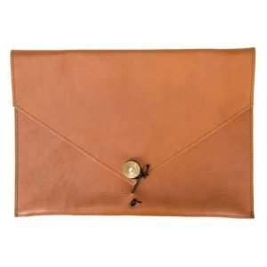 "P.A.P P.A.P Kungsten Leather Laptop Cover 13"" Tan"