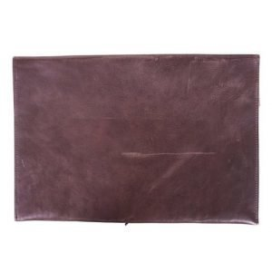 "P.A.P P.A.P Laptop Cover 13"" Brown Leather"