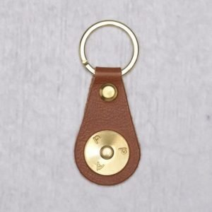 P.A.P P.A.P Robin Key Ring Tan