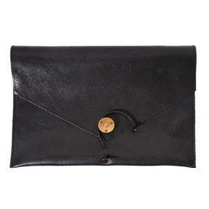 P.A.P P.A.P Saltholmen Leather iPad Cover Black