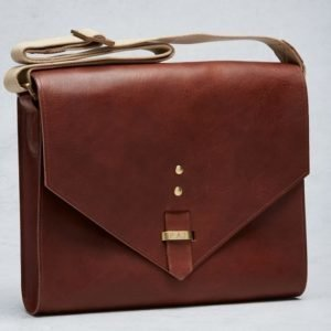 "P.A.P P.A.P Yannick 13"" Shoulder Bag Brown"