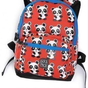 Pick & Pack Reppu Panda Punainen