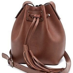 Pieces Samesa Tighten Bag Cognac