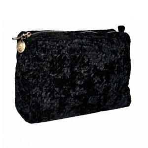 Pipol's Bazaar Velvet Wave Cosmetic Big Black Kosmetiikkalaukku