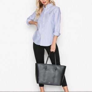 Polo Ralph Lauren Large Zip Tote Käsilaukku Musta