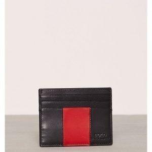 Polo Ralph Lauren Pcd s Stp Cc-Card Case-Smooth Korttikotelo Musta/punainen