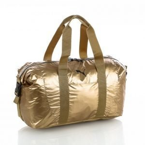 Puma Fit At Workout Bag Gold Duffelilaukku Kulta