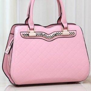 Racer vaaleanpunainen laukku
