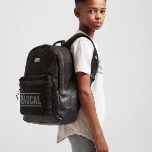Rascal Marseille Backpack Reppu Musta