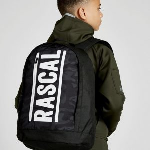 Rascal Savage Camo Backpack Reppu Musta