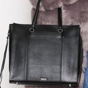Rebecca Minkoff Always On Side Zip Regan Tote Käsilaukku Musta