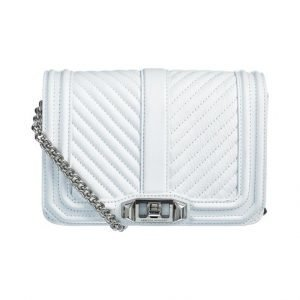 Rebecca Minkoff Chevron Quilted Love Oil Malaga Nahkalaukku