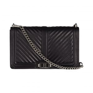 Rebecca Minkoff Chevron Quilted Slim Love Crossbody Nahkalaukku