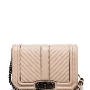 Rebecca Minkoff Chevron Quilted Small Love Crossbody pikkulaukku