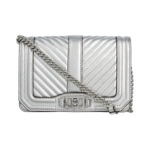 Rebecca Minkoff Chevron Quilted Small Love Nahkalaukku