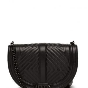 Rebecca Minkoff Geo Quilted Love Saddle olkalaukku