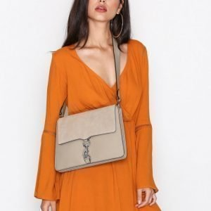 Rebecca Minkoff Large Mab Shoulder Bag Olkalaukku Sandstone