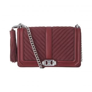 Rebecca Minkoff Love Chevron Crossbody Nahkalaukku