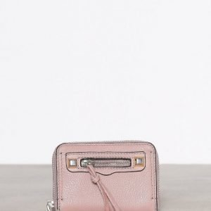 Rebecca Minkoff Mini Regan Zip Wallet Lompakko Vaaleanpunainen