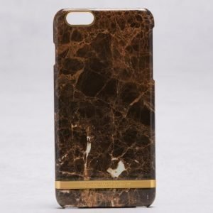 Richmond & Finch Richmond & Finch Marble iPhone 6 Plus Brown Marble