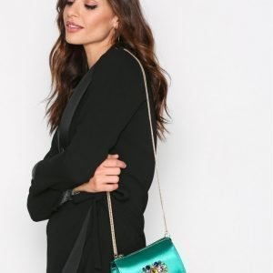 River Island Embellished Xbody Bag Olkalaukku Green
