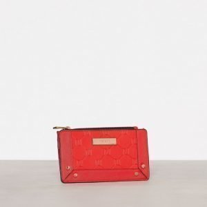 River Island Embossed Slim Purse Lompakko Red