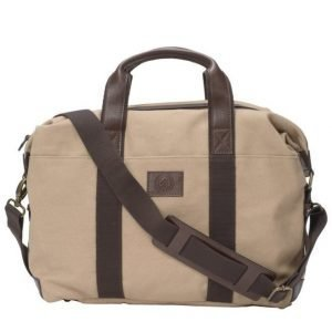 Saddler Saddler 10914 Canvas Briefcase Khaki