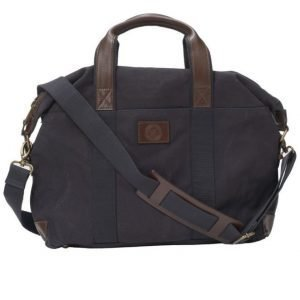 Saddler Saddler 10914 Canvas Briefcase Navy