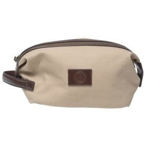 Saddler Saddler 10915 Canvas Wash Bag Khaki