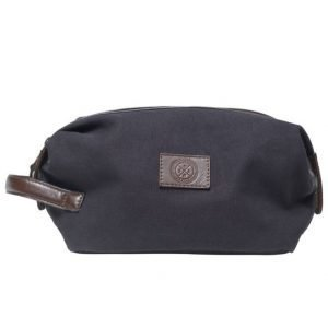 Saddler Saddler 10915 Canvas Wash Bag Navy