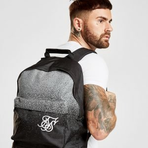 Siksilk Reflective Paint Splat Backpack Reppu Musta