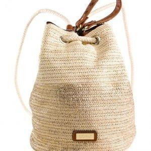 Soccx Käsilaukku Luonnonvaalea / Kullanvärinen