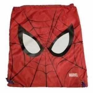 Spiderman jumppapussi gymnastikpåse röd