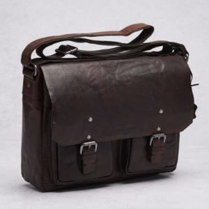 """Spikes & Sparrow Spikes & Sparrow Messenger 13"""" Brown"""