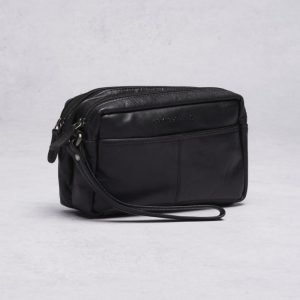 Spikes & Sparrow Spikes & Sparrow Toilet Bag Black