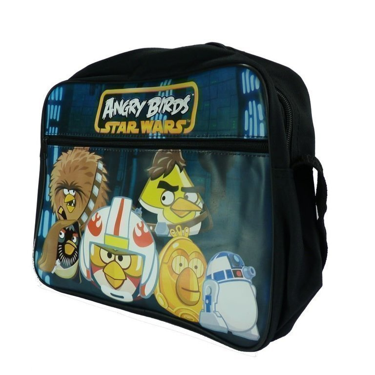 Star Wars Angry Birds messanger Bag Skolväska Väska
