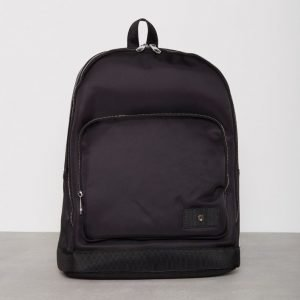 Steele & Borough Mr Backpack Reppu Musta