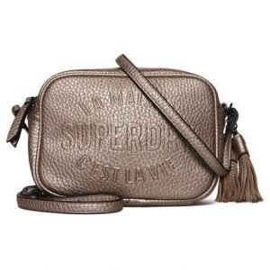 Superdry Delwen Cross Body Laukku Kulta