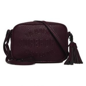 Superdry Delwen Cross Body Laukku Purppura