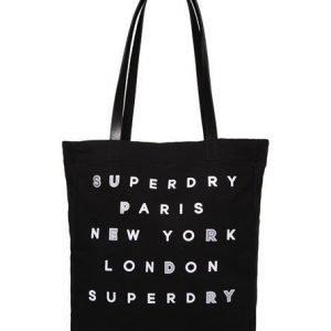 Superdry Etoile Parisian Ostoskassi Musta