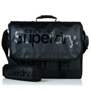 Superdry Gel Tarp Läppärilaukku Musta