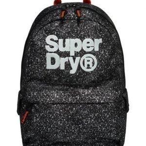 Superdry Logo Montana Reppu Musta