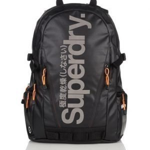 Superdry Mega Ripstop Tarp Reppu Musta